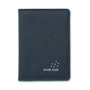 promotional two tone passport holders MOB-MO9107
