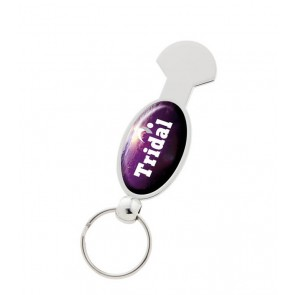 promotional universal trolley coin keyrings SEU-KY1700