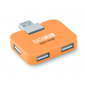 promotional square usb hubs (4 port) MOB-MO8930