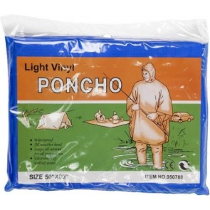 promotional vinyl poncho with hoods IME-9507