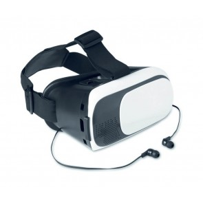 promotional vr glasses with earphones  MOB-MO9072