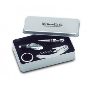 promotional wine sets in tin boxes  MOB-MO7843