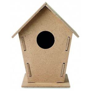 promotional woohouse wooden bird houses MOB-MO8532