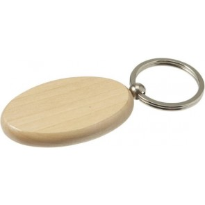promotional wooden oval keyrings IME-7300