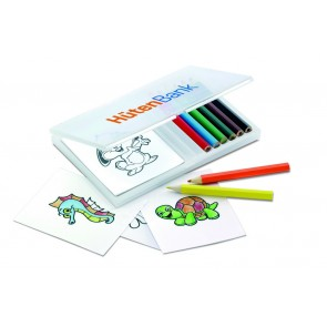 promotional wooden pencil colouring sets  MOB-MO7389
