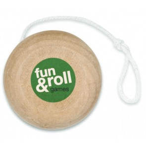 promotional wooden yo yos  MOB-KC2937