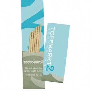 promotional z 5 toothpick packs TGR-Z-5